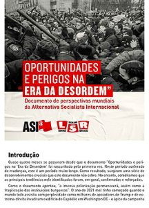 Documento de perspectivas mundiais da Alternativa Socialista Internacional (ASI)